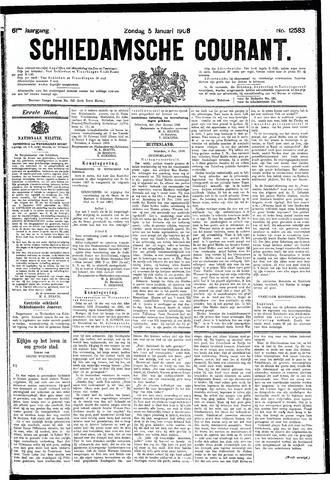 Schiedamsche Courant 1908-01-05
