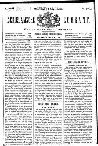 Schiedamsche Courant 1877-09-24