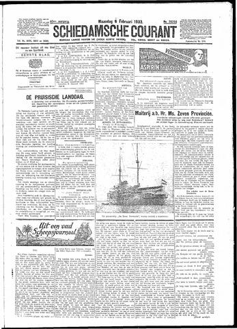 Schiedamsche Courant 1933-02-06