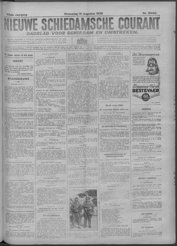 Nieuwe Schiedamsche Courant 1929-08-14