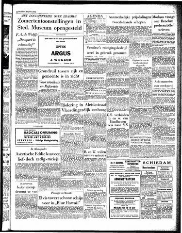 Rotterdamsch Parool / De Schiedammer 1962-07-21