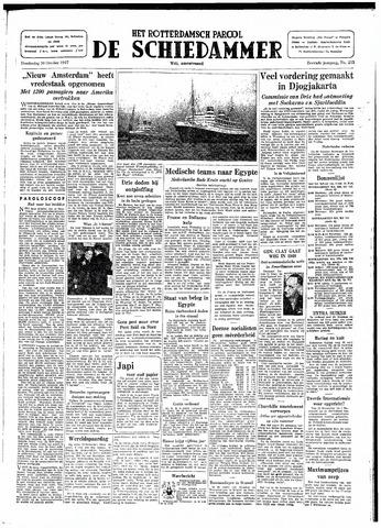 Rotterdamsch Parool / De Schiedammer 1947-10-30