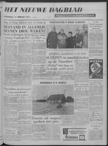Nieuwe Schiedamsche Courant 1962-02-15