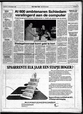 Het Vrije volk 1988-11-01