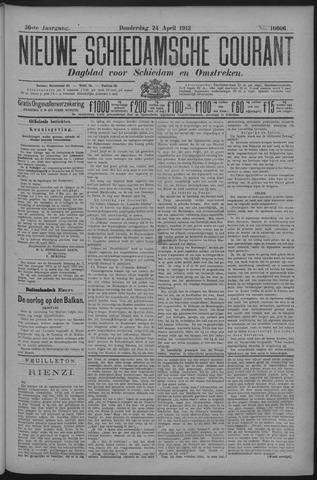 Nieuwe Schiedamsche Courant 1913-04-24