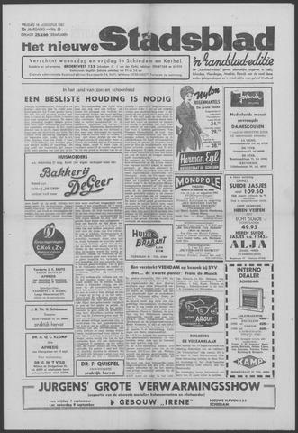 Het Nieuwe Stadsblad 1961-08-18