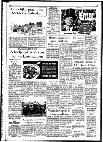 Rotterdamsch Parool / De Schiedammer 1961-05-17