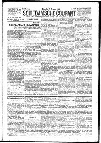 Schiedamsche Courant 1931-10-05