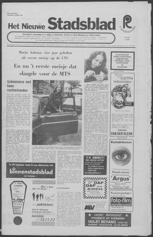 Het Nieuwe Stadsblad 1973-05-24
