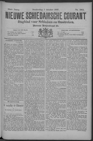 Nieuwe Schiedamsche Courant 1897-10-07