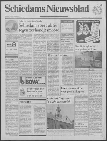 Schiedams Nieuwsblad 1977-04-06