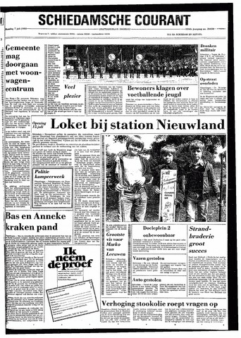 Rotterdamsch Nieuwsblad / Schiedamsche Courant / Rotterdams Dagblad / Waterweg / Algemeen Dagblad 1980-07-07