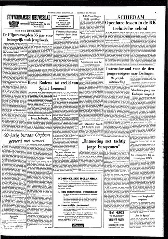 Rotterdamsch Nieuwsblad / Schiedamsche Courant / Rotterdams Dagblad / Waterweg / Algemeen Dagblad 1964-06-29