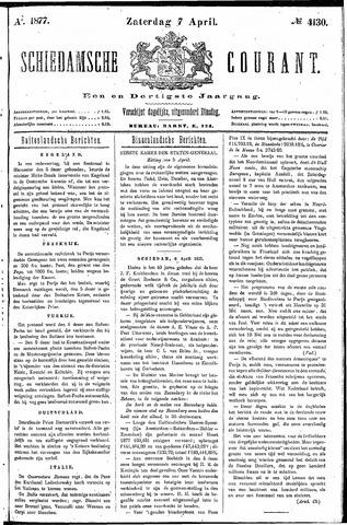Schiedamsche Courant 1877-04-07