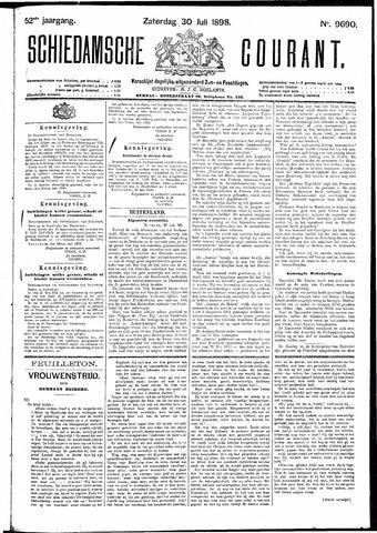 Schiedamsche Courant 1898-07-30