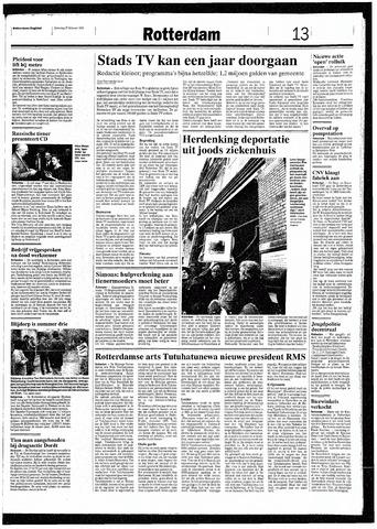 Rotterdamsch Nieuwsblad / Schiedamsche Courant / Rotterdams Dagblad / Waterweg / Algemeen Dagblad 1993-02-27