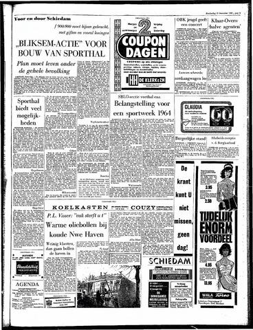 Rotterdamsch Parool / De Schiedammer 1963-12-12