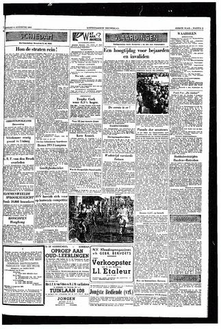 Rotterdamsch Nieuwsblad / Schiedamsche Courant / Rotterdams Dagblad / Waterweg / Algemeen Dagblad 1953-08-04