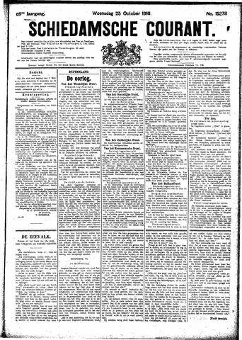 Schiedamsche Courant 1916-10-25