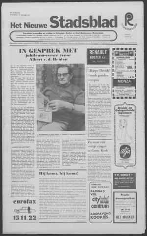 Het Nieuwe Stadsblad 1971-10-27