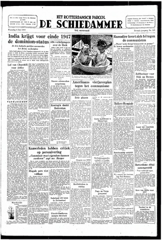 Rotterdamsch Parool / De Schiedammer 1947-06-04