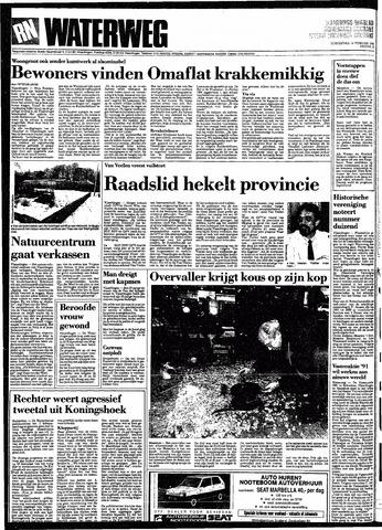 Rotterdamsch Nieuwsblad / Schiedamsche Courant / Rotterdams Dagblad / Waterweg / Algemeen Dagblad 1991-02-14