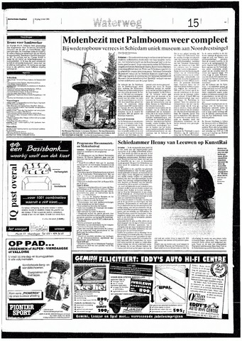 Rotterdamsch Nieuwsblad / Schiedamsche Courant / Rotterdams Dagblad / Waterweg / Algemeen Dagblad 1993-05-14