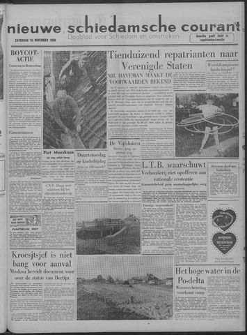 Nieuwe Schiedamsche Courant 1958-11-15