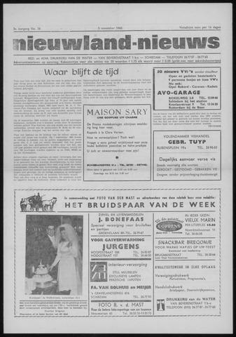 Nieuwland Nieuws 1966-11-03