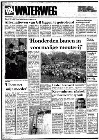 Rotterdamsch Nieuwsblad / Schiedamsche Courant / Rotterdams Dagblad / Waterweg / Algemeen Dagblad 1987-05-05