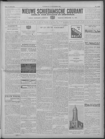 Nieuwe Schiedamsche Courant 1933-11-18