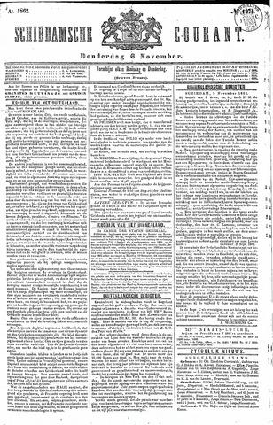 Schiedamsche Courant 1862-11-06