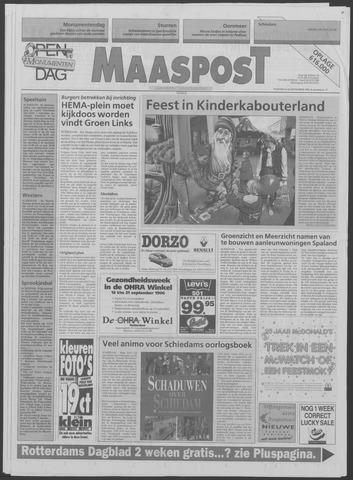 Maaspost / Maasstad / Maasstad Pers 1996-09-11