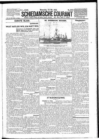 Schiedamsche Courant 1935-05-22