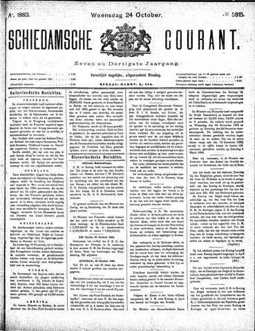 Schiedamsche Courant 1883-10-24