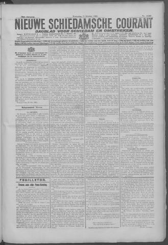 Nieuwe Schiedamsche Courant 1925-10-21