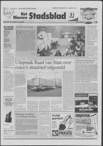 Het Nieuwe Stadsblad 2001-02-22
