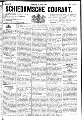 Schiedamsche Courant 1910-06-14
