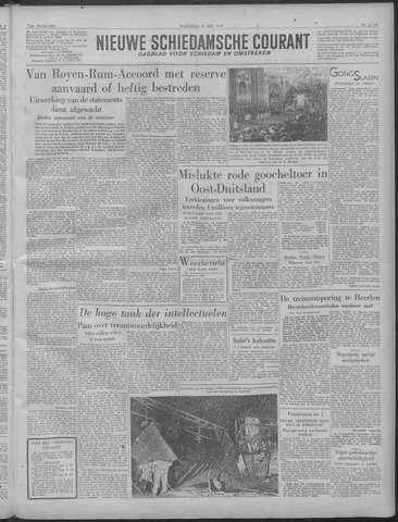 Nieuwe Schiedamsche Courant 1949-05-18