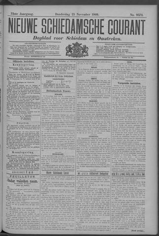Nieuwe Schiedamsche Courant 1909-11-25