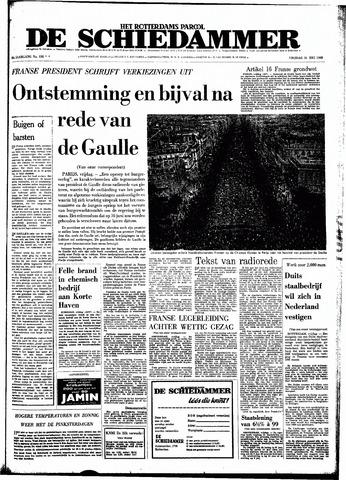 Rotterdamsch Parool / De Schiedammer 1968-05-31