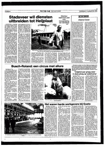 Het Vrije volk 1990-08-11