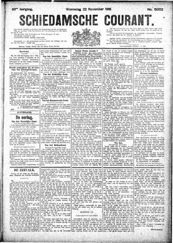 Schiedamsche Courant 1916-11-22