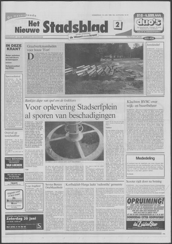 Het Nieuwe Stadsblad 1998-06-18