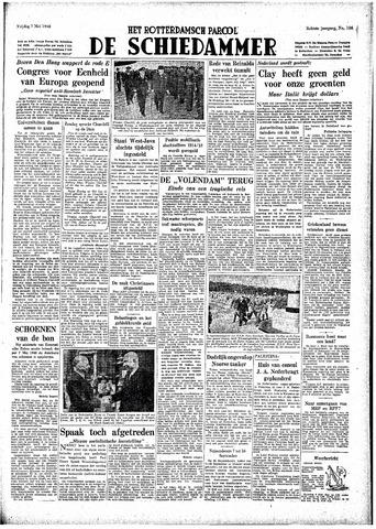 Rotterdamsch Parool / De Schiedammer 1948-05-07