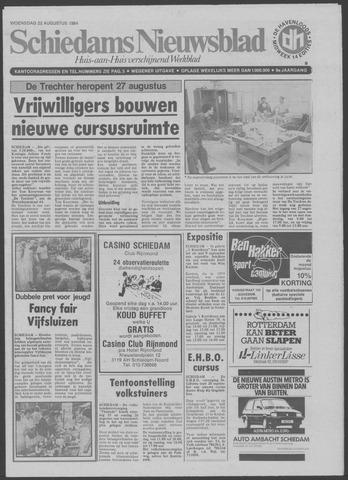 Schiedams Nieuwsblad 1984-08-22