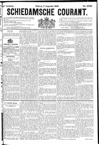 Schiedamsche Courant 1908-08-11