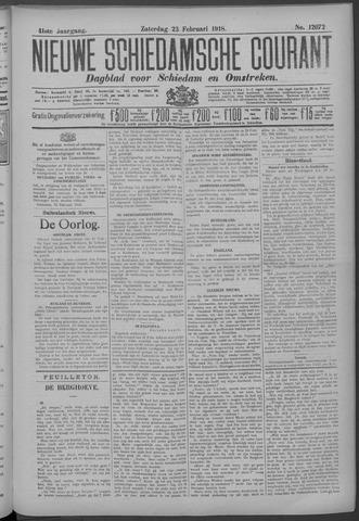 Nieuwe Schiedamsche Courant 1918-02-23