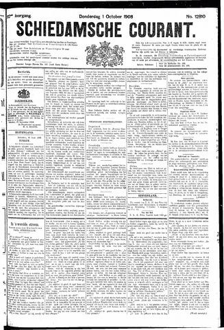Schiedamsche Courant 1908-10-01