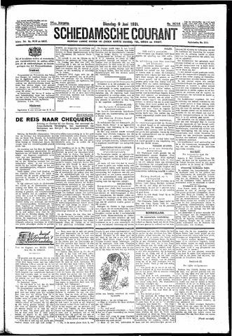 Schiedamsche Courant 1931-06-09